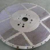 Hydraulic washer screen plate